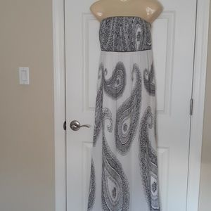 NWT White House Black Market maxi dress size 14